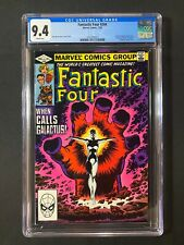 Fantastic Four #244 CGC 9.4 (1982) - 1st app of Nova - Frankie Raye becomes Nova