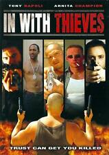 IN WITH THIEVES Movie POSTER 27x40 Keion Adams Arnita Champion Lawrence Cheng