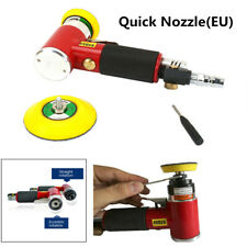 "2"" 3"" Pneumatic Orbital Sander Car Polisher+Quick Nozzle(EU)+Tray Air Sander Kit"