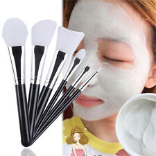 6pcs Silicone Brush Set Facial Face Mask Brush & Eye Makeup Brushes Cosmetic NEW