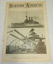 5/29/1909 SCIENTIFIC AMERICAN/Battleship Mississippi,Postage Stamps,Steel Ingots