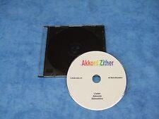Zither Akkordzither - Stimmtöne auf CD