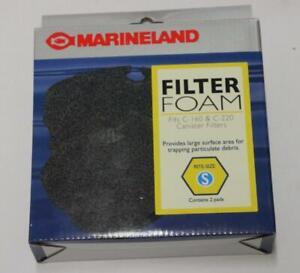Marineland Rite Size Polishing Or Foam Filter Pad C Series C-160 @ C-220 Size S