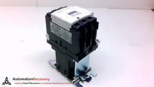 SCHNEIDER ELECTRIC LC1D50BD CONTACTOR, 690V, 80A, TORQUE: 45LB/IN, 3PH,  #210389