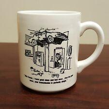Funny Car Repair Gone Bad Coffee Mug United Transmission Service