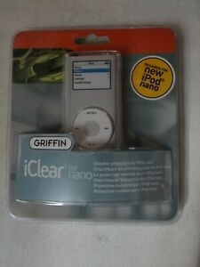 Griffin iClear For Nano Invisible Protection for iPod Nano