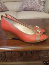 Sofft Camira Heels - Leather, Peep Toe Size 7,5