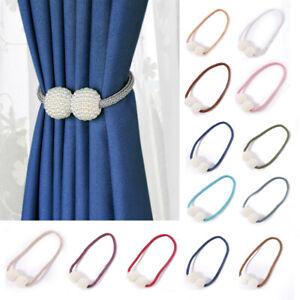 Magnetic Beads Curtain Tieback Tie Backs Buckle Clips Holdbacks For Home Windows
