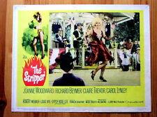THE STRIPPER Movie SEXPLOITATION Film Lobby Card JOANNE WOODWARD RICHARD BEYMER