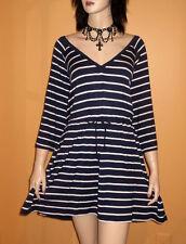 Blue White SWIMSUIT COVER UP DRESS Swim Wear Bathing Suit 3x 4x 5x PLUS SIZE 24