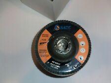 "Satc 10 Pack 4.5� x 7/8"" Jumbo 40 Grit Zirconia Flap Disc Grinding Wheels T29"