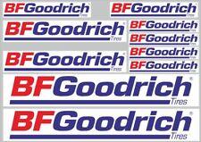 BF Goodrich Tire Logo Vinyl Decal Sticker 61115z