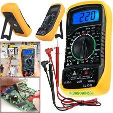 Digital Multimeter Messgerät AC DC LCD Strommesser Strom Voltmeter Amperemeter.