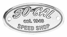 SO-CAL SPEED SHOP POLISHED STAINLESS STEEL BADGE TRADITIONAL1932 FORD ROADSTERS