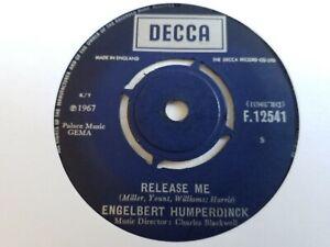 """Engelbert Humperdinck - Release Me - 7"""" Vinyl Single"""