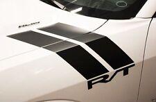 Vinyl Decal RT RALLY RACE STRIPES Wrap Kit for Dodge Challenger 08-16 Flat Black