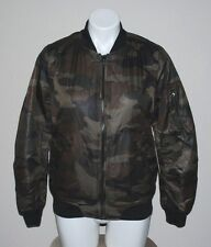 NWT CI SONO Womens Fleece Faux Shearling Lined Camouflage Jacket Coat Size S