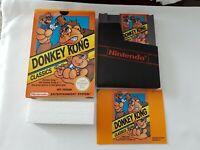 Donkey Kong Classics - Nintendo NES Game [PAL A UKV] - CIB