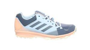 Adidas Womens Terrex Tracerocker Blue Hiking Shoes Size 11.5 (1713746)