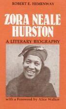 Zora Neale Hurston: A LITERARY BIOGRAPHY-ExLibrary