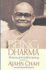 Being Dharma: The Essence of the Buddha's Teachings, Good Condition Book, Ajahn