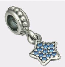 Pandora Pave Star, Blue CZ 925 ALE MIB 791024CZB