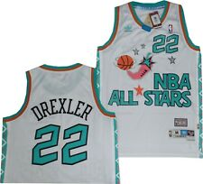 2957b7feb32b Portland Trail Blazers Clyde Drexler 1996 All Star Adidas Swingman Jersey   120