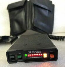 Cincinnati Microwave Passport Radar Detector, Case, Power Adapter, Mount