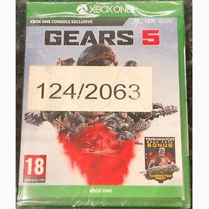 *NEW* Gears 5  (Xbox One, 2019) 4K HDR Enhanced, inc. Terminator Dark Fate Bonus