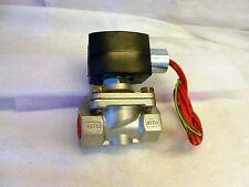 "Asco 1/2"" EFHB8210G087 EFHB8210G87 exp proof s.s. air/water valve 120v C404"