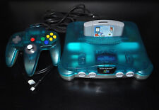 Nintendo 64 N64 with Ultra HDMI Japanese Console Ice Blue and Everdrive