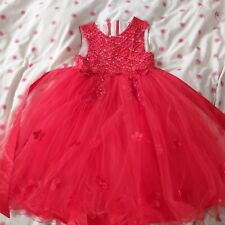 Girl 11 Years And Above Red Party Tutu Dress New With Tag