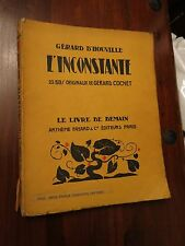 L'inconstante by Gerard d'Houville - Fayard Livre de Demain No 33 series 1925/26