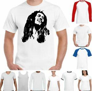 Bob Marley T-Shirt Reggae Music Jamaica Wailers Jamaican wailers Top Weed
