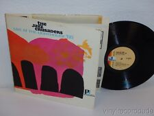 JAZZ CRUSADERS Live At The Lighthouse 66 PROMO COPY LP Pacific Jazz PJ-10098