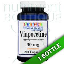 Vinpocetine 30 mg 200 Capsules Maximum Strength