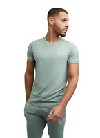 Gym King Uomo T-Shirt da Corsa Atletico Palestra Moda Stile Sportiva Clothing
