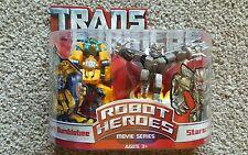 Hasbro USA Transformers Robot Heroes-Movie Series Allspark Bumblebee& Starscream