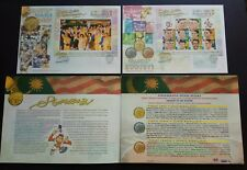 1998 Malaysia KL'98 Commonwealth Games Glorious Moments Mini Sheets Stamps FDC