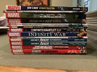 Marvel New Avengers Thanos Infinity Gauntlet War Wolverine Hulk X-Men TPB Lot