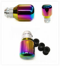 Car SUV Aluminum Alloy Colorful Shift Lever Cover Transmission Adjustable  Knob
