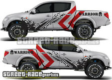 Mitsubishi L200 040 rally raid stickers decals graphics race motorsport WARRIOR