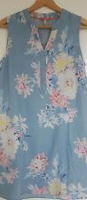 Women's 'JOULES' Chambray FLORAL Cotton TUNIC / DRESS - Size 12