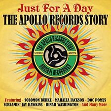 The Apollo Records Story - Just For A Day 3CD NEW/SEALED
