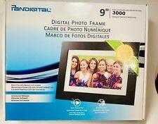 Pandigital 9 inch Digital Photo Frame, 3000 Images LED-Backlit LCD Screen New.
