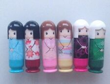 Kimono Style Russian Dolly Lip Balms (3 pack) * Choose Your Colour *