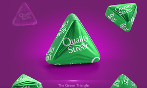Green Triangles Pick n Mix Your Own Quality Street By Nestle Quality Street Gift