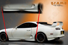 Toyota Supra Genuine OEM Style Side Skirts of Fibreglass for Body Kit V5