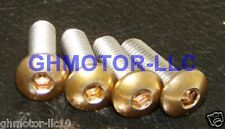 New 07 08 09 10 11 12 CBR600RR GOLD COMPLETE FAIRING BOLTS FASTENERS SCREWS KIT