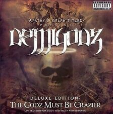 DEMIGODZ The Godz Must Be Crazier 2CD APATHY CELPH TITLED FORT MINOR AOTP GBC